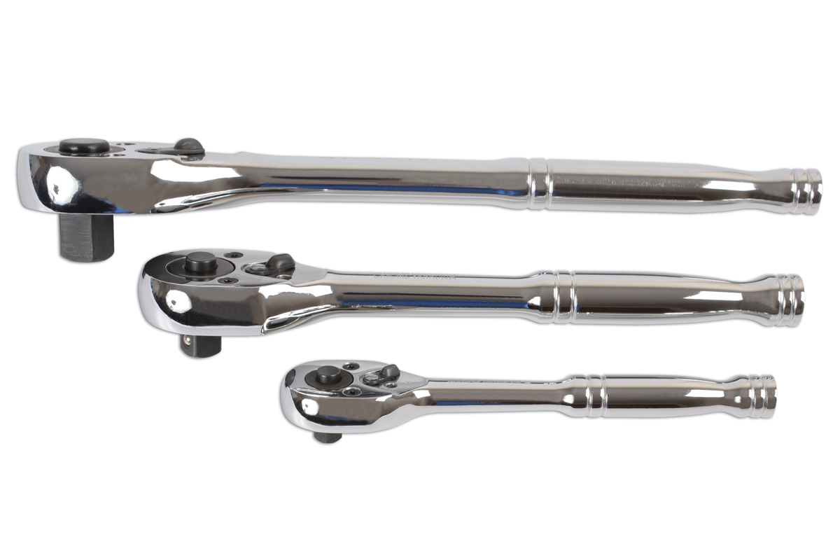 Ratchet Set 14d 38d 12d 3pc Part No 6421 Part Of The 1