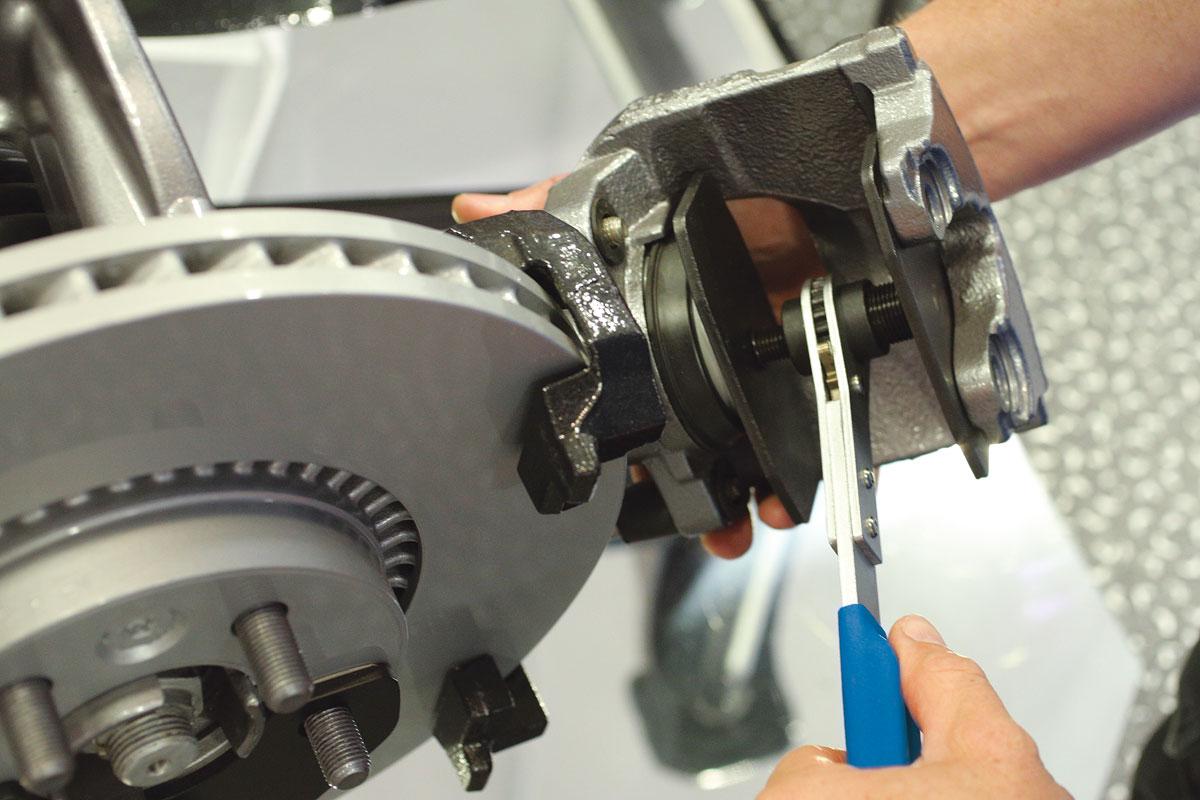 Brake Caliper Press Ratchet Brake Caliper Piston Spreader Tool