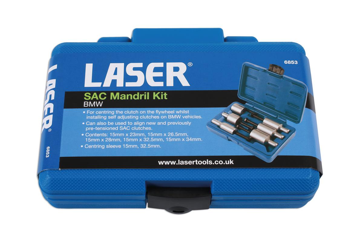 Laser Tools 6853 SAC Mandrel Kit for BMW