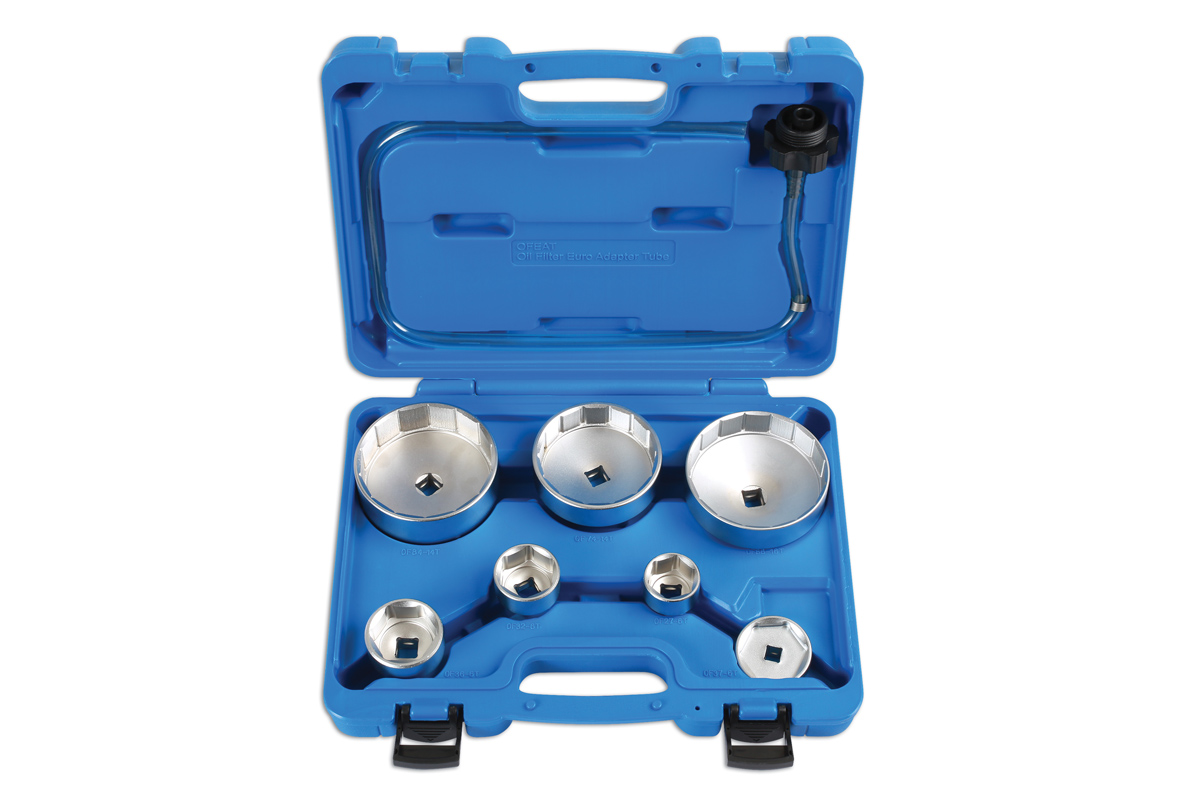 Oil Filter Wrench Set 8pc | Part No  6932 | Part of the Cup Style