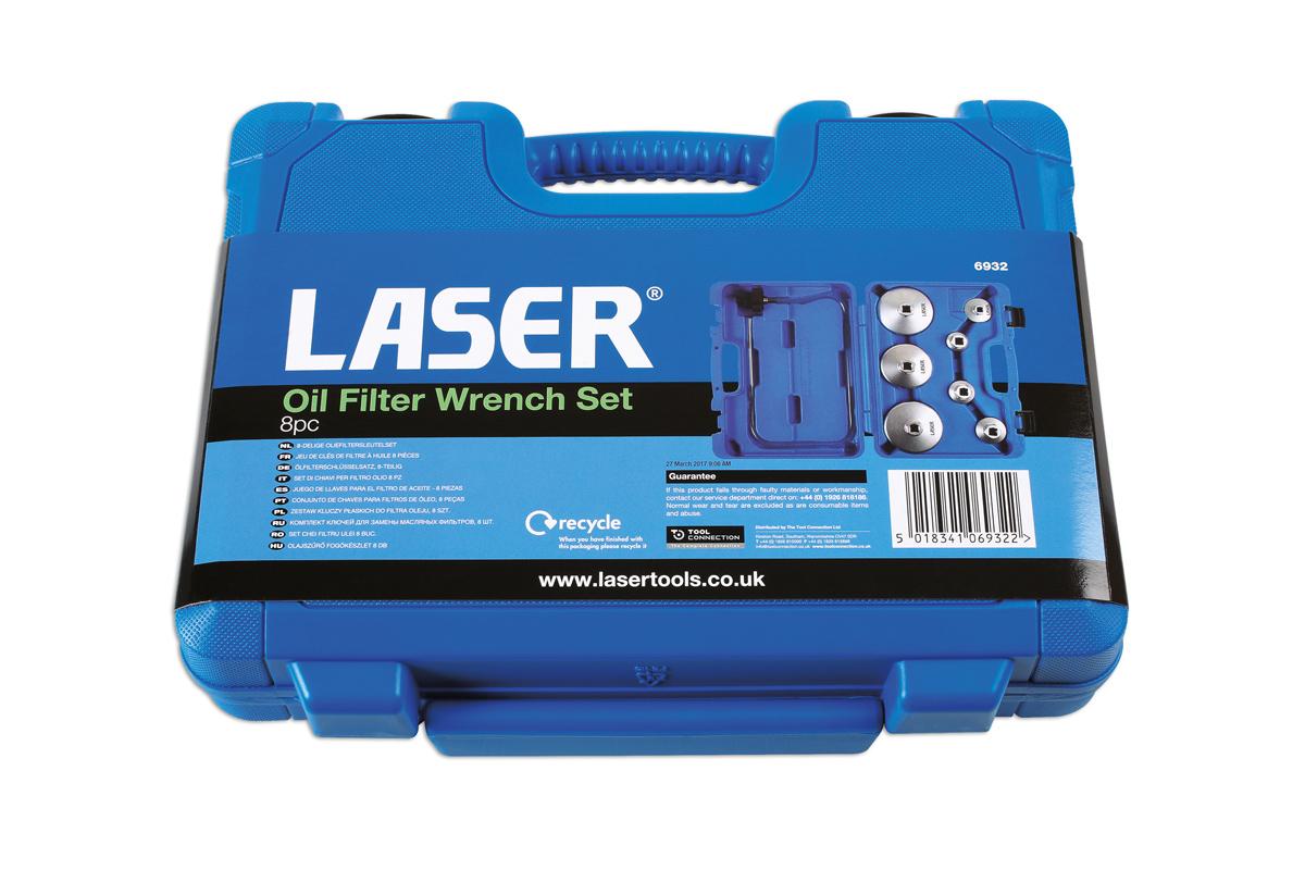 Llave de filtro de aceite 65/ mm - 67/ mm Laser 4990