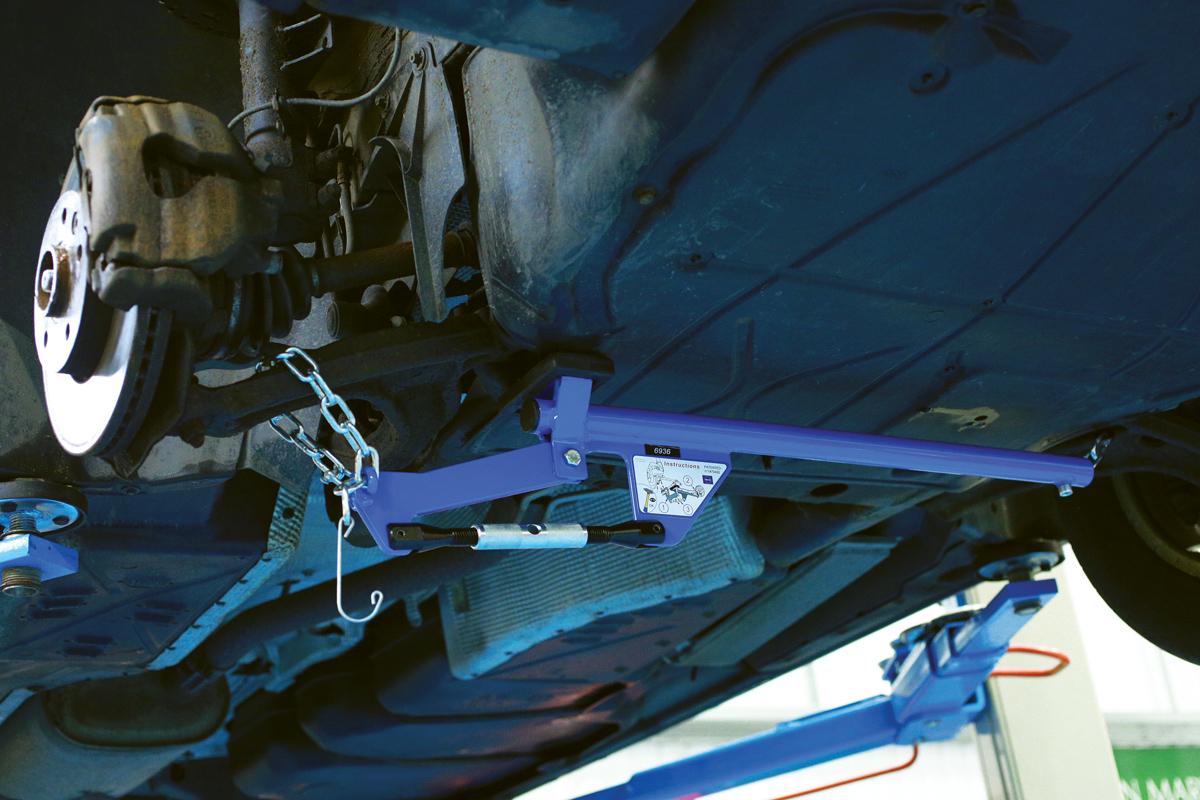 Tool Suspension Arm : Hands free suspension arm lever part no of