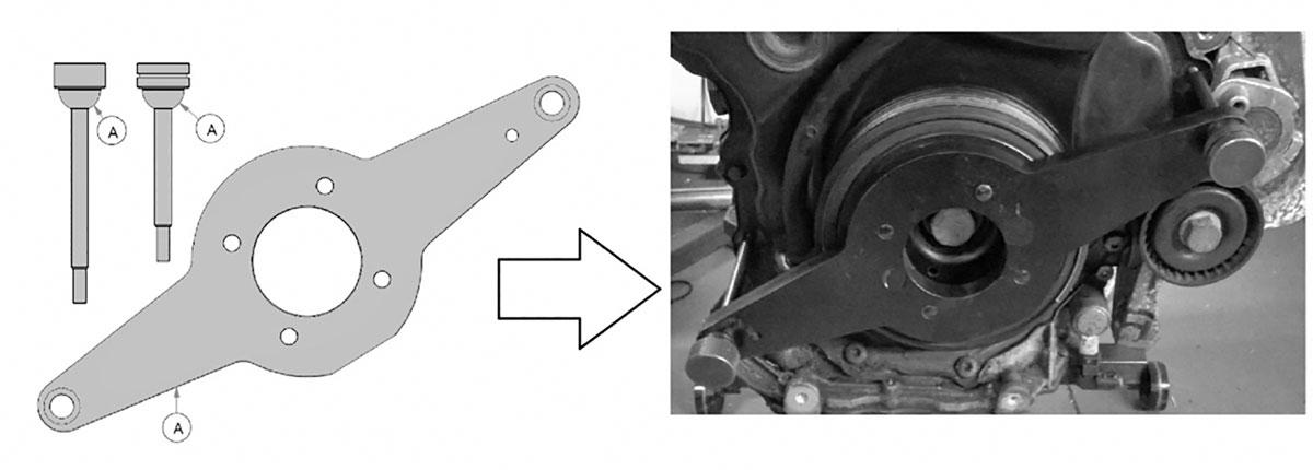 Резултат с изображение за Vibration Damper Holding Tool --