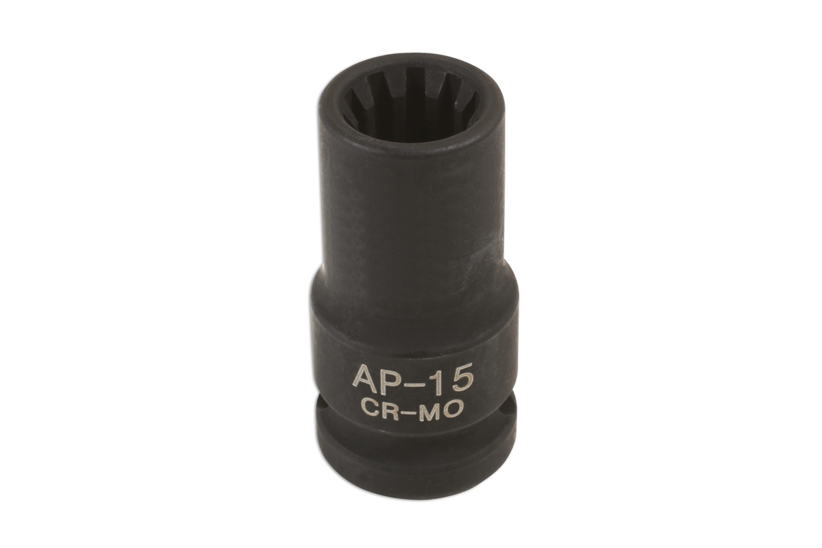 Laser Tools 6986 Caliper Brake Pad Socket 15mm x 10pt