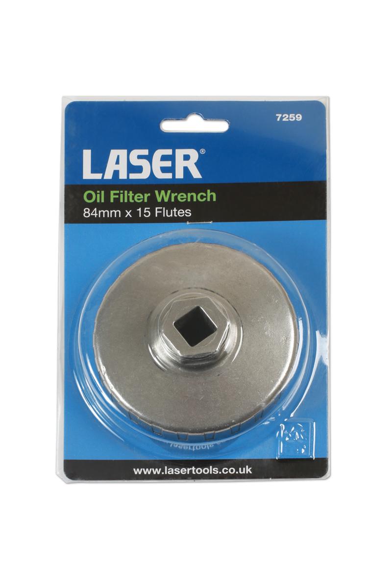 Laser Part No 4788 nouveau Filtre à Huile Clé 84 mm x 14 Flûte