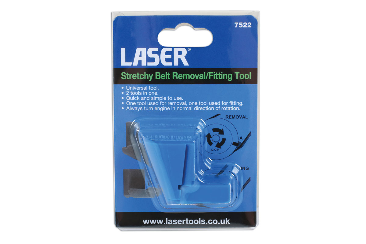 Laser 7522 Stretchy Belt Removal//Fitting Tool