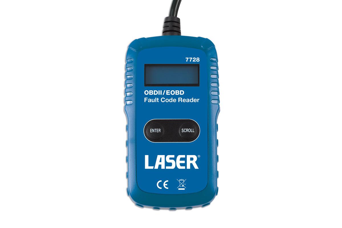 Laser Tools 7728OBDII//EOBD Fault Code Reader